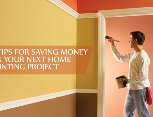 5 Tips for Saving Money on Your Next Home Painting Project