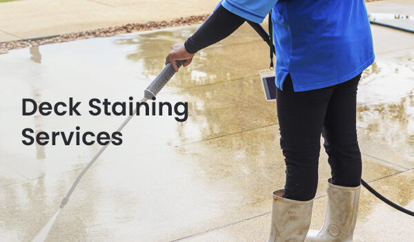 Deck Staining Services Greenville SC